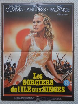 Safari Express, Original French Movie Poster, BEST Image of Ursula Andress, '76